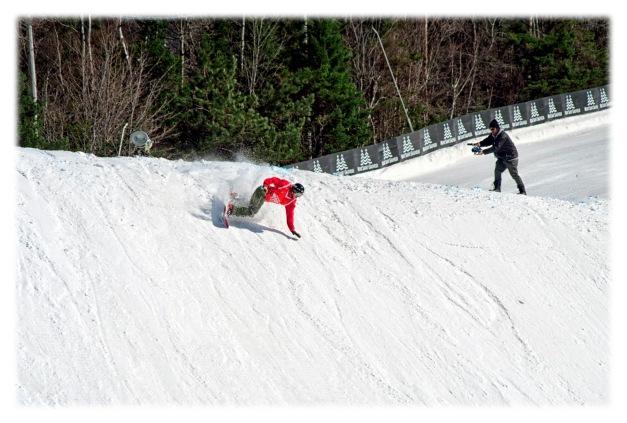 Vroom vroom... sur les « chapeaux de ski »...
